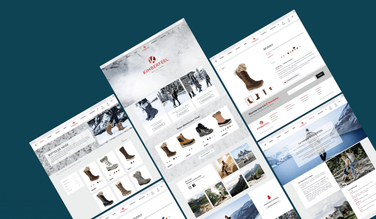 Exemple de plateforme e-commerce B2B sur Prestashop