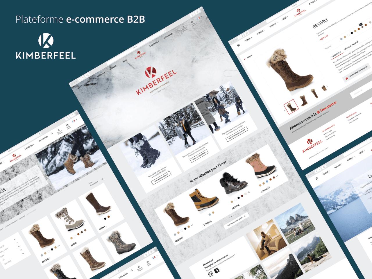 Création plateforme e-commerce B2B