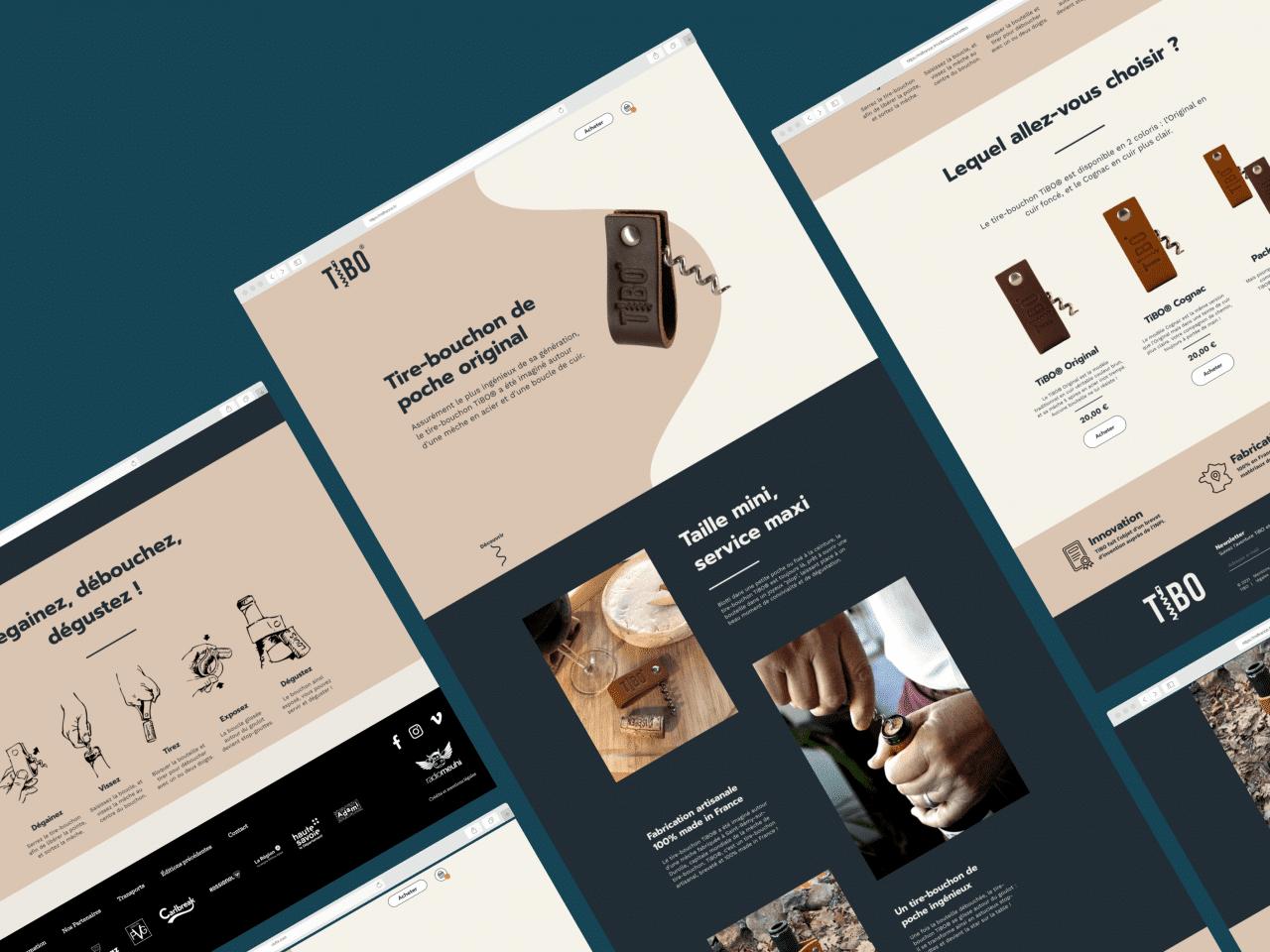 Conception d'une boutique Shopify sur mesure