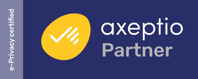 Consentement cookies - Axeptio Official Partner