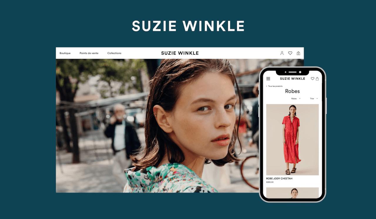Développement d'une boutique en ligne Shopify pour le secteur Mode